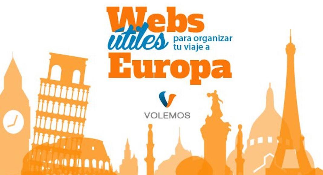 Webs útiles para viajar a Europa