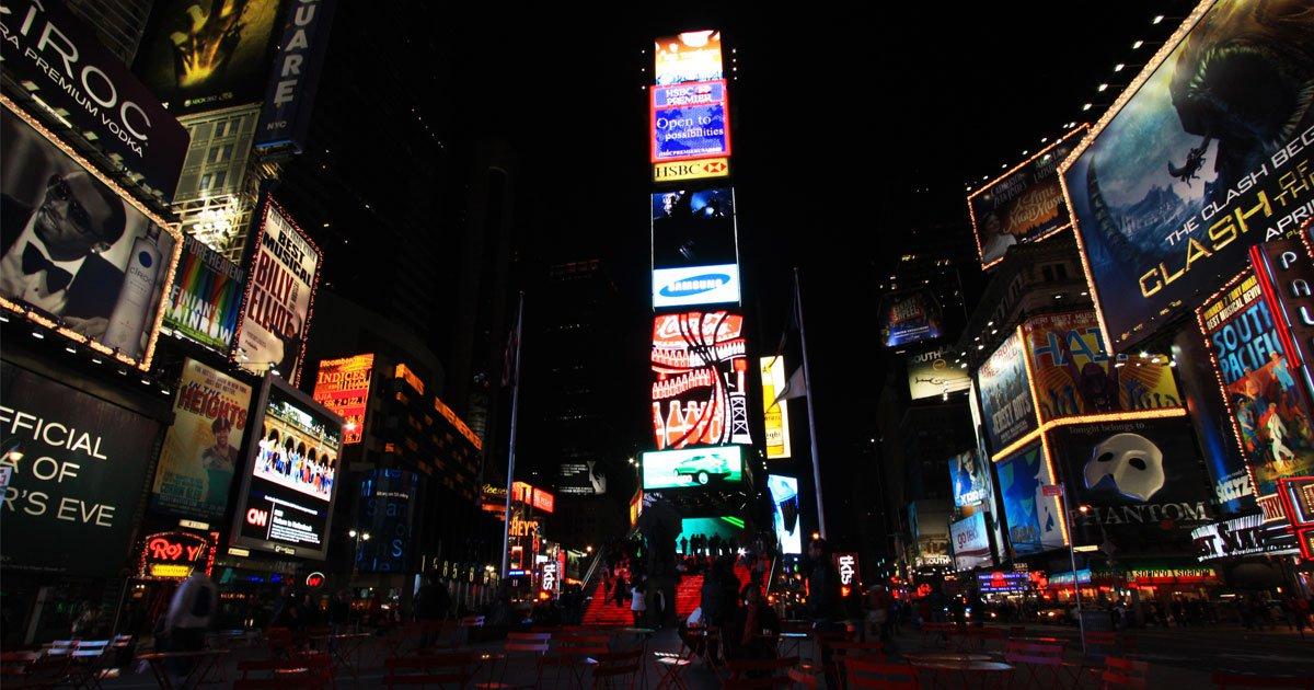 La Gran Manzana - Nueva York - Time Square