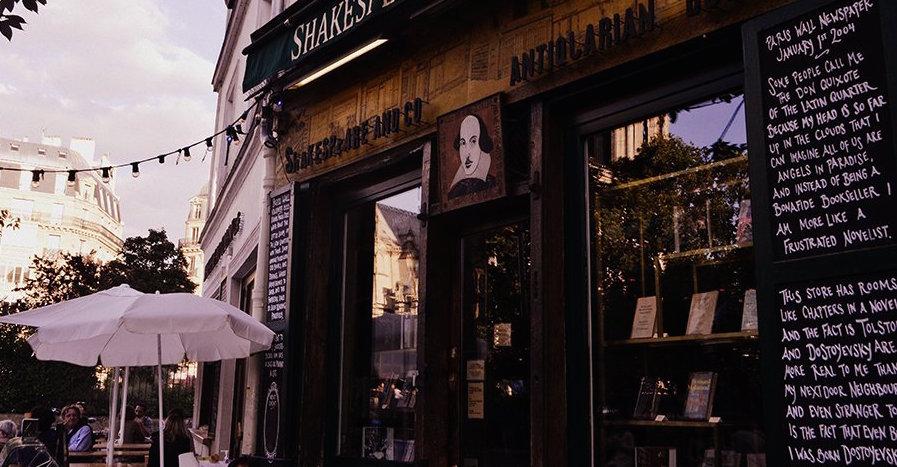 Librería Shakespeare and Co
