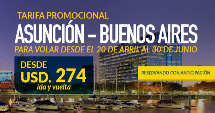 Amaszonas Paraguay volará a Buenos Aires