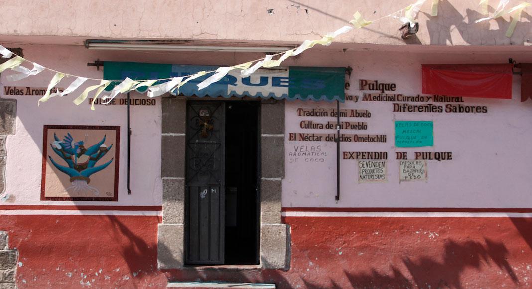 Ciudad de México y sus alrededores - Pulquería en Tepoztlán