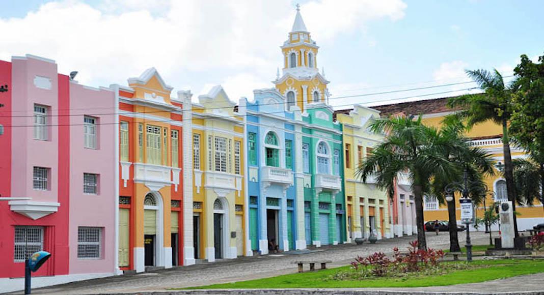 centro histórico en Joao Pessoa