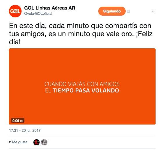 GOL lanza redes sociales exclusivas para argentinos