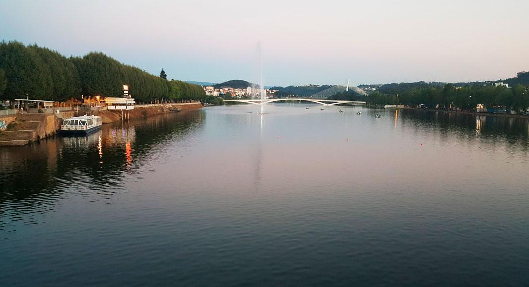 Coimbra, Portugal: río, alrededores