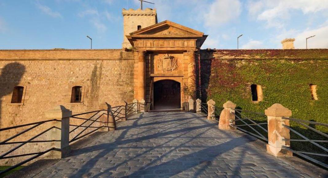 Entrada al Castillo Montjuic