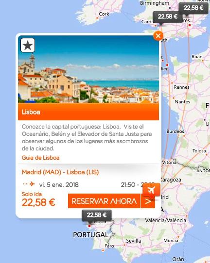 EasyJet: Vuelos entre 15 y 25 euros dentro de Europa