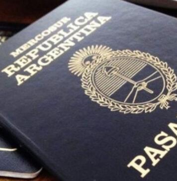pasaporte argentino