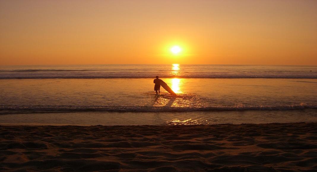 Playas para aprender a surfear