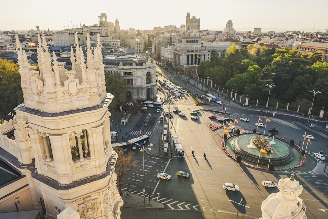Qué visitar en Madrid: mirador del Palacio de Comunicaciones