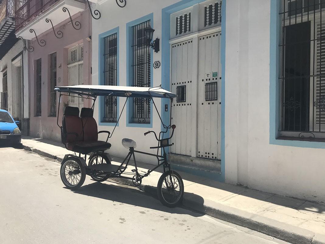 Bici taxis en Cuba