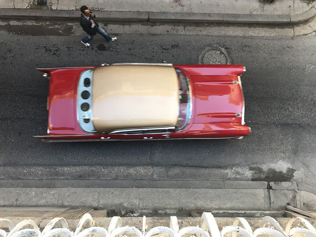 Taxis colectivos en Cuba