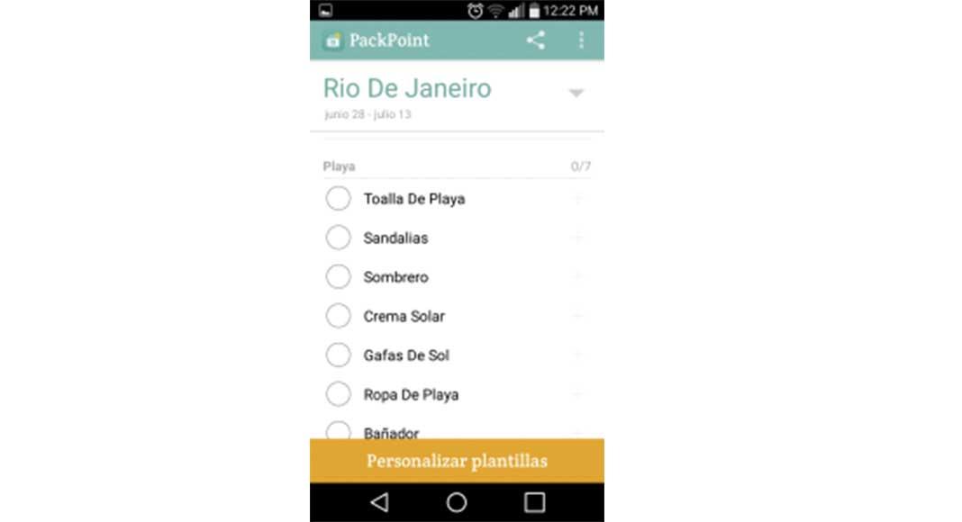 Apps útiles para tus viajes