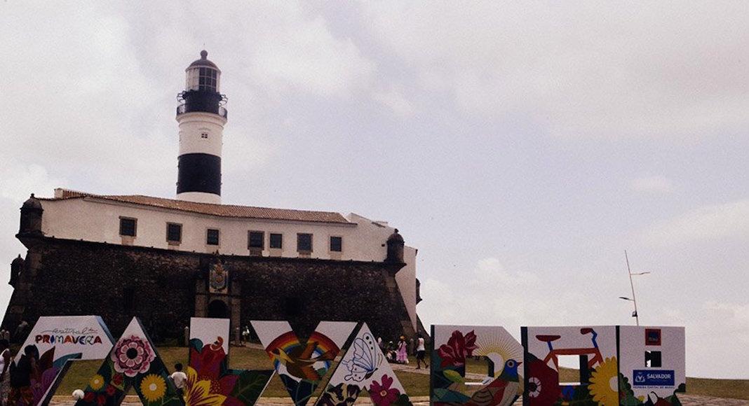 Faro de La Barra en Salvador de Bahía