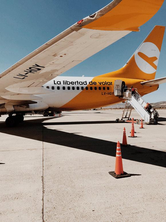 Todas las formas de llegar al aeropuerto de El Palomar: Aerolínea FlyBondi
