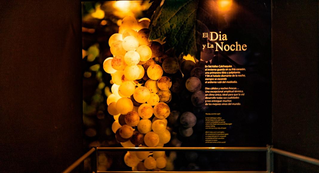 Sección día y noche, sala 1, museo de la vid y el vino