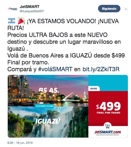 Promoción JetSmart