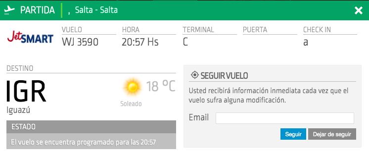 Salta - Iguazú