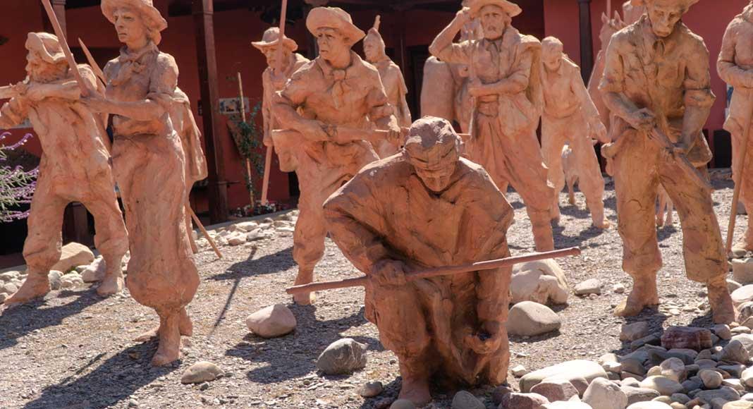 Tips para viajar a Salta: Escultura del Museo de Guemes