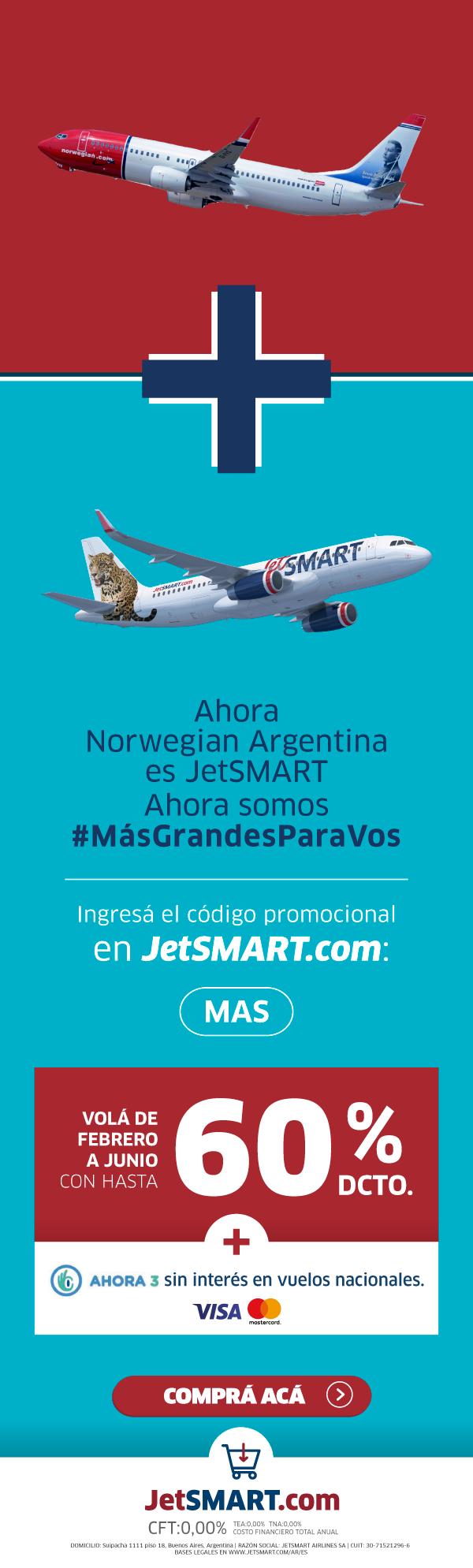 Newsletter de JetSmart