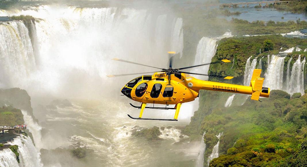 Atracciones imperdibles en Iguazú: Tour en helicóptero