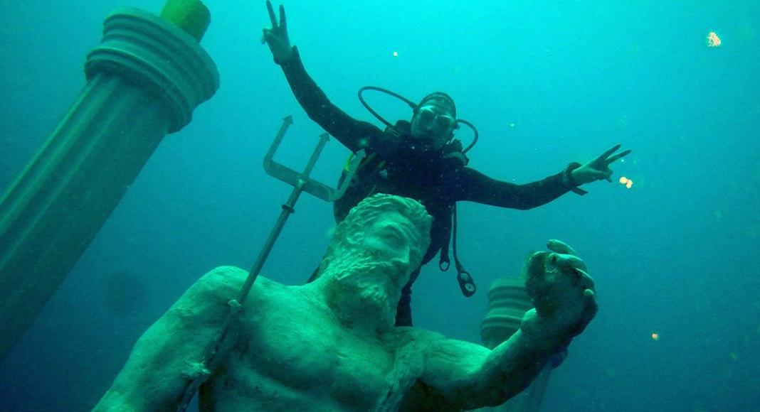 Museo submarino en Turquía