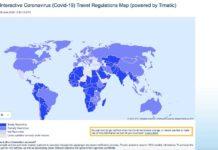 mapa interactivo IATA