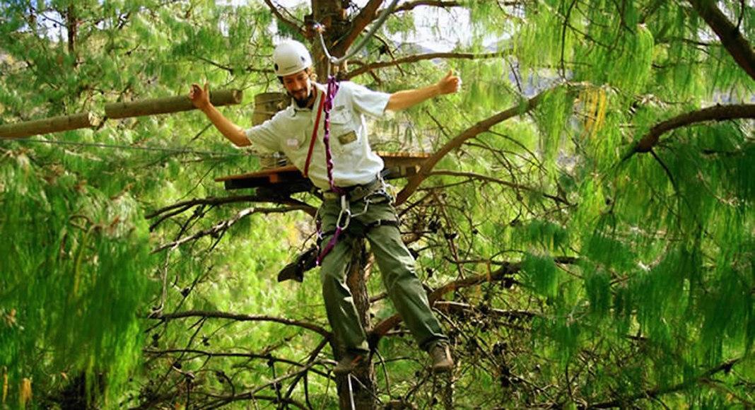 arborismo en La Cumbrecita