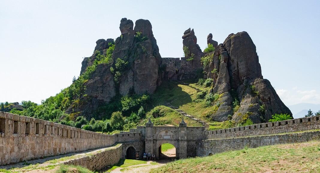 Muralla en Bulgaria