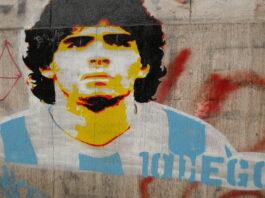 murales de Diego Maradona en el mundo