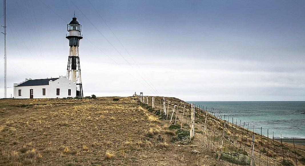 Faro en Cabo Vírgenes