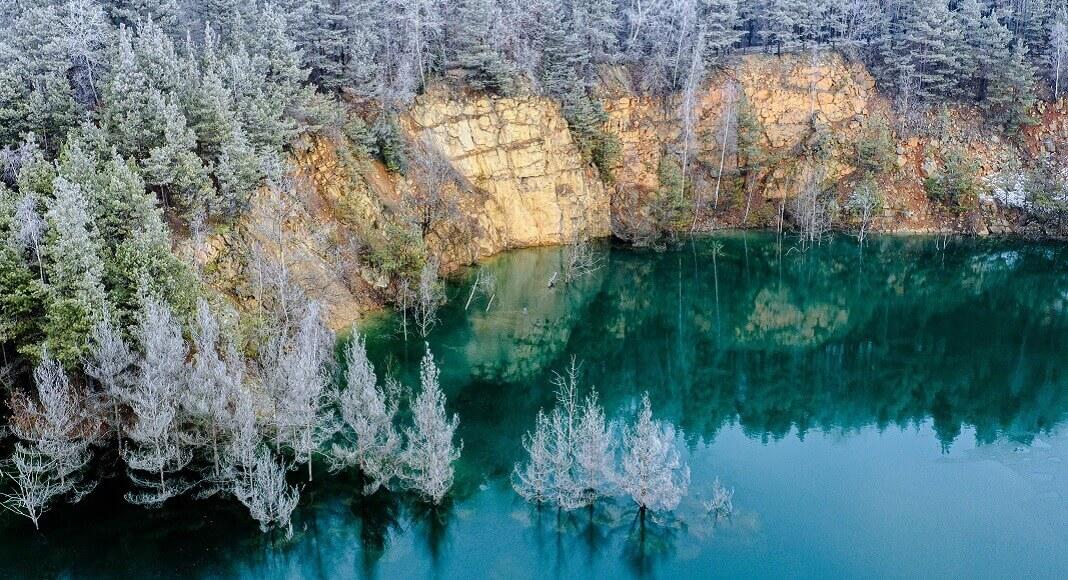 Lago en Polonia