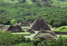 Pirámide en Tren Maya