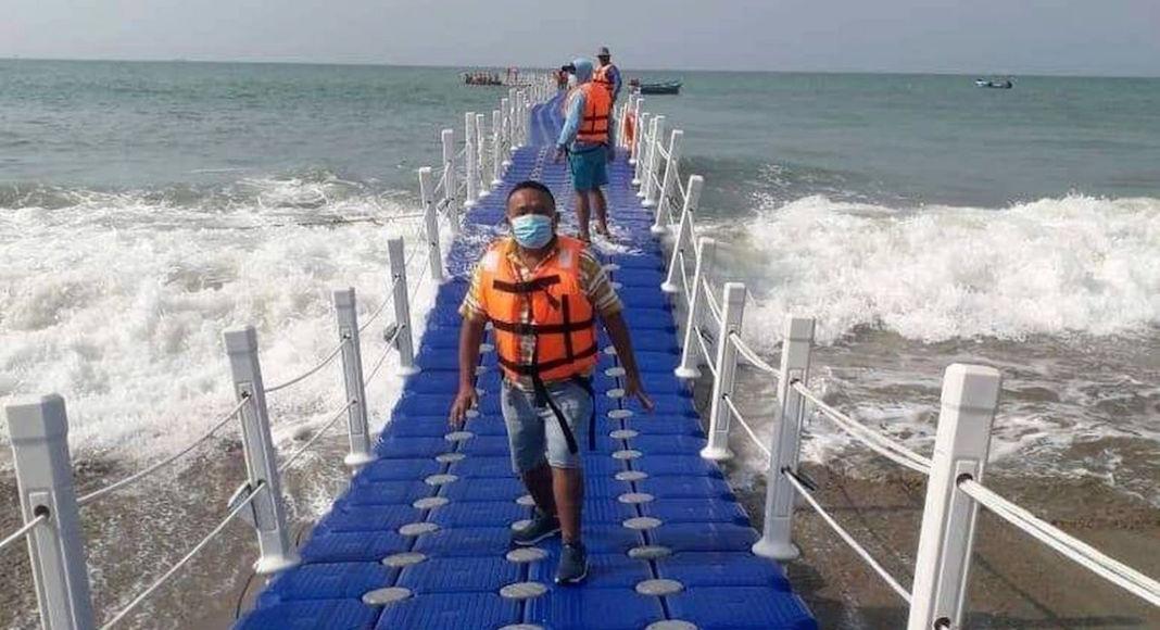 Muelle flotante Perú