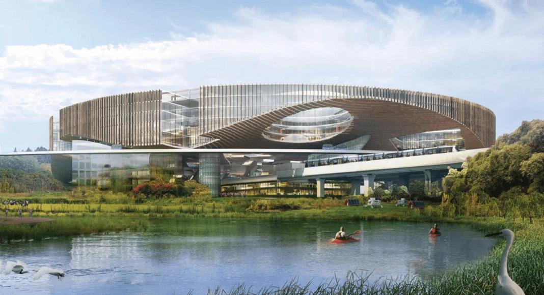 Ciudad del futuro en China