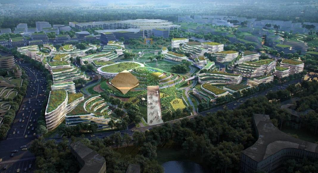 Prototipo de Ciudad del futuro en China