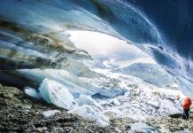 Cuevas del Glaciar Alvear