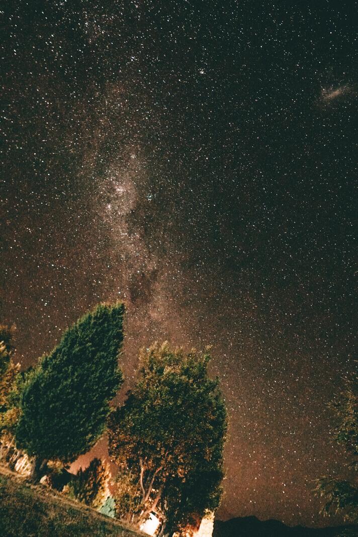 Noche en Camping Bahía Rosales